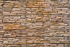 Παλαιά ανασκόπηση τοίχων πετρών Στοκ Φωτογραφία