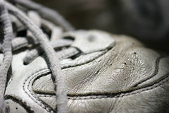 παλαιά αντισφαίριση παπουτσιών στοκ εικόνα