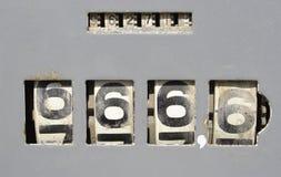 Παλαιά αντλία αερίου Στοκ φωτογραφίες με δικαίωμα ελεύθερης χρήσης