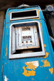 παλαιά αντλία καυσίμων Στοκ φωτογραφία με δικαίωμα ελεύθερης χρήσης