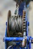 Παλαιά αποβάθρα βαρκών σιδήρου και οξειδίων Στοκ φωτογραφίες με δικαίωμα ελεύθερης χρήσης