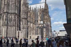 Παλαιά αρχιτεκτονική στη Γερμανία στοκ φωτογραφίες