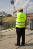 παλαιά ασφάλεια φρουράς Στοκ εικόνα με δικαίωμα ελεύθερης χρήσης