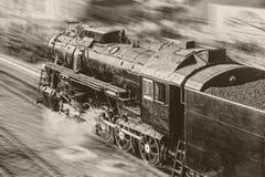 Παλαιά ατμομηχανή ατμού στοκ εικόνες με δικαίωμα ελεύθερης χρήσης