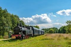Παλαιά ατμομηχανή ατμού, Bialowieza, Podlasie, Πολωνία Στοκ Φωτογραφία