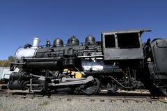 παλαιά ατμομηχανή Στοκ Εικόνες