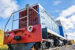 Παλαιά ατμομηχανή diesel Στοκ εικόνες με δικαίωμα ελεύθερης χρήσης
