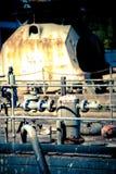 παλαιά αυλή σκαφών Στοκ εικόνα με δικαίωμα ελεύθερης χρήσης