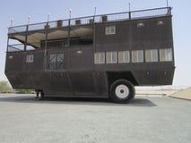 Παλαιά αυτοκίνητα στο μουσείο αυτοκινήτων στο Αμπού Νταμπί στοκ φωτογραφίες