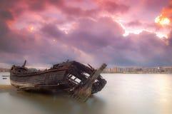 Παλαιά βάρκα Στοκ Εικόνα