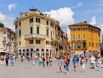 Παλαιά Βερόνα, Ιταλία, παγκόσμια κληρονομιά της ΟΥΝΕΣΚΟ Στοκ Φωτογραφία