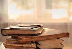 Παλαιά βιβλία Στοκ εικόνα με δικαίωμα ελεύθερης χρήσης