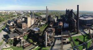 Παλαιά βιομηχανική περιοχή Dolni oblast Vitkovice στην Οστράβα στοκ φωτογραφία με δικαίωμα ελεύθερης χρήσης