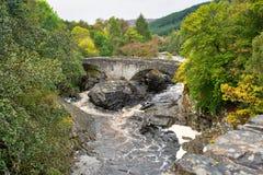 Παλαιά γέφυρα σε Invermorten Στοκ Εικόνες