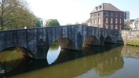 Παλαιά γέφυρα στη ρομαντική πόλη Roermond Στοκ φωτογραφία με δικαίωμα ελεύθερης χρήσης
