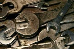 παλαιά γαλλικά κλειδιά Στοκ εικόνες με δικαίωμα ελεύθερης χρήσης
