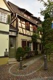 Παλαιά γερμανικά σπίτια Στοκ φωτογραφία με δικαίωμα ελεύθερης χρήσης