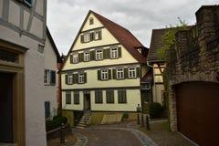 Παλαιά γερμανικά σπίτια Στοκ Φωτογραφίες