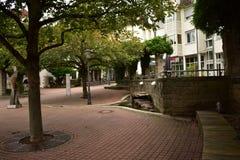 Παλαιά γερμανικά σπίτια Στοκ εικόνες με δικαίωμα ελεύθερης χρήσης