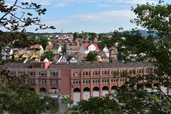 Παλαιά γερμανικά σπίτια Στοκ εικόνα με δικαίωμα ελεύθερης χρήσης
