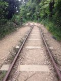 Παλαιά γραμμή Karangahake σιδηροδρόμων στοκ εικόνα με δικαίωμα ελεύθερης χρήσης