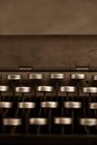 παλαιά γραφομηχανή Στοκ φωτογραφίες με δικαίωμα ελεύθερης χρήσης