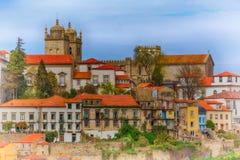 Παλαιά δημαρχεία του Πόρτο, Πορτογαλία στοκ φωτογραφία