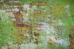 Παλαιά διαβρωμένη grunge οξυδωμένη σύσταση τοίχων μετάλλων στοκ εικόνες