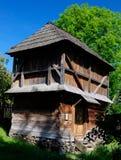παλαιά δομή ξύλινη Στοκ Εικόνα