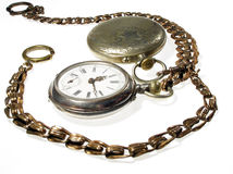 παλαιά δύο ρολόγια στοκ φωτογραφίες με δικαίωμα ελεύθερης χρήσης