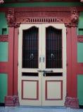Παλαιά εκλεκτής ποιότητας πόρτα Στοκ φωτογραφία με δικαίωμα ελεύθερης χρήσης