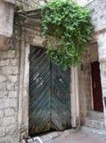 Παλαιά εκλεκτής ποιότητας shabby πόρτα Παλαιά ηλικίας ξύλινη πόρτα Στοκ εικόνες με δικαίωμα ελεύθερης χρήσης