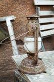 Παλαιά ελαιολυχνία ourdoor, εκλεκτής ποιότητας αντικείμενο στοκ φωτογραφία με δικαίωμα ελεύθερης χρήσης