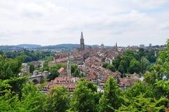 παλαιά Ελβετία πόλη της Βέρ Στοκ φωτογραφία με δικαίωμα ελεύθερης χρήσης