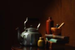 παλαιά εργαλεία αποθηκ&al Στοκ εικόνες με δικαίωμα ελεύθερης χρήσης