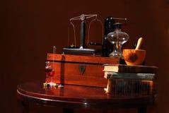παλαιά εργαλεία αποθηκ&al στοκ εικόνες