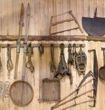 Παλαιά εργαλεία και εκλεκτής ποιότητας στοιχεία Στοκ εικόνα με δικαίωμα ελεύθερης χρήσης