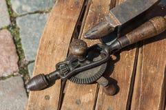 Παλαιά παλαιά εργαλεία Στοκ Εικόνες