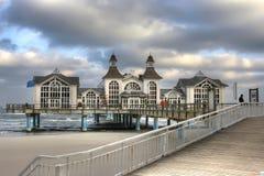 παλαιά θάλασσα γεφυρών στοκ φωτογραφία με δικαίωμα ελεύθερης χρήσης