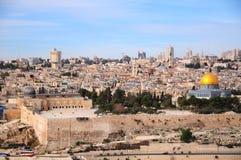 παλαιά Ιερουσαλήμ Στοκ Εικόνες