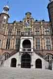 Παλαιά ιστορική αίθουσα πόλεων Στοκ Φωτογραφία
