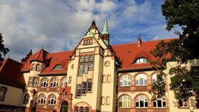 Παλαιά ιστορική θέση κτηρίου σε Cottbus Γερμανία Στοκ Εικόνες