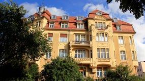 Παλαιά ιστορική παλαιά πόλη κτηρίου στη Γερμανία Στοκ εικόνα με δικαίωμα ελεύθερης χρήσης
