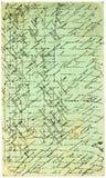 παλαιά ιταλική κάρτα Στοκ εικόνα με δικαίωμα ελεύθερης χρήσης