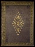παλαιά κάλυψη Βίβλων Στοκ Εικόνες