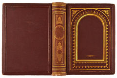 Παλαιά κάλυψη βιβλίων Στοκ φωτογραφίες με δικαίωμα ελεύθερης χρήσης
