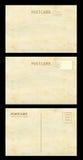 Παλαιά κάρτα και σημάδι Στοκ Φωτογραφία