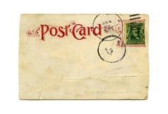 παλαιά κάρτα Στοκ Φωτογραφίες