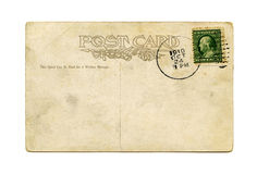 παλαιά κάρτα Στοκ φωτογραφία με δικαίωμα ελεύθερης χρήσης