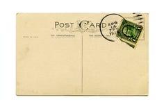 παλαιά κάρτα Στοκ Φωτογραφία